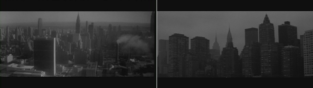 El apartamento y Manhattan