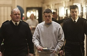 Jack O Connell playing Eric in Starred Up.