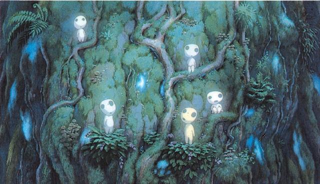La princesa Mononoke Hayao Miyazaki