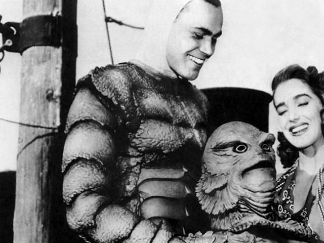 La mujer y el monstruo Creature from Black Lagoon