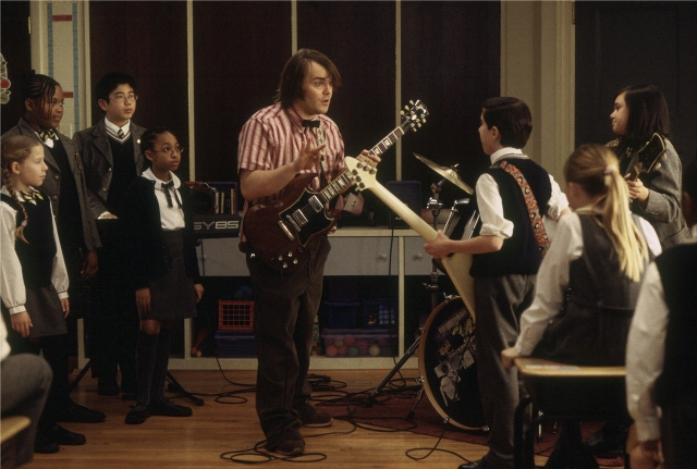 Escuela de Rock Richard Linklater