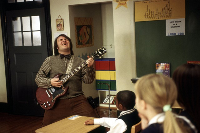 Escuela de rock Jack Black