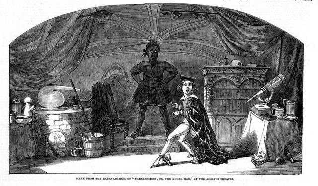 Frankenstein; or The model Man