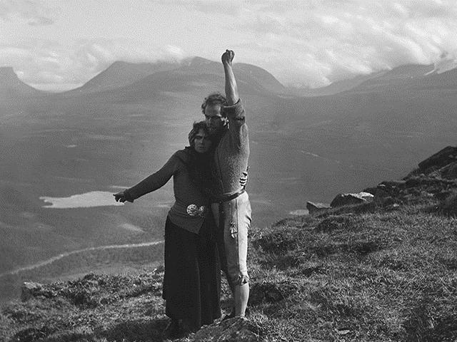 Edad de Oro del Cine Sueco Berg-Ejvind och hans hustru