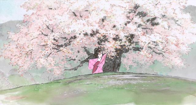 El cuento de la princesa Kaguya Takahata