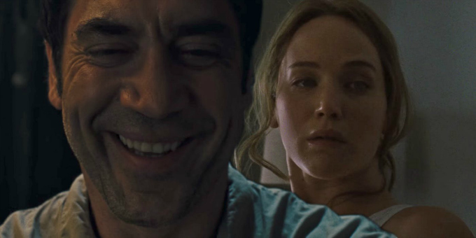 madre! 2017 Bardem y Lawrence