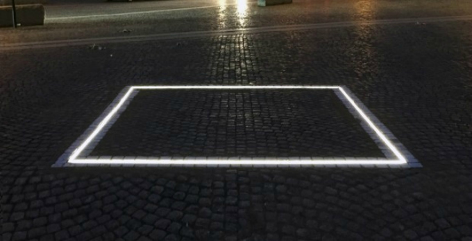 the square Ruben Ostlund
