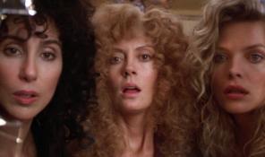 Las brujas de Eastwick cine divergente