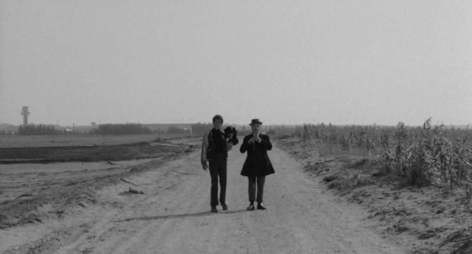 Pajaritos y pajarracos Pasolini 1966