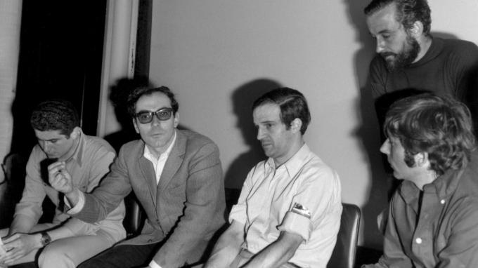 Godard y Truffaut Mayo del 68