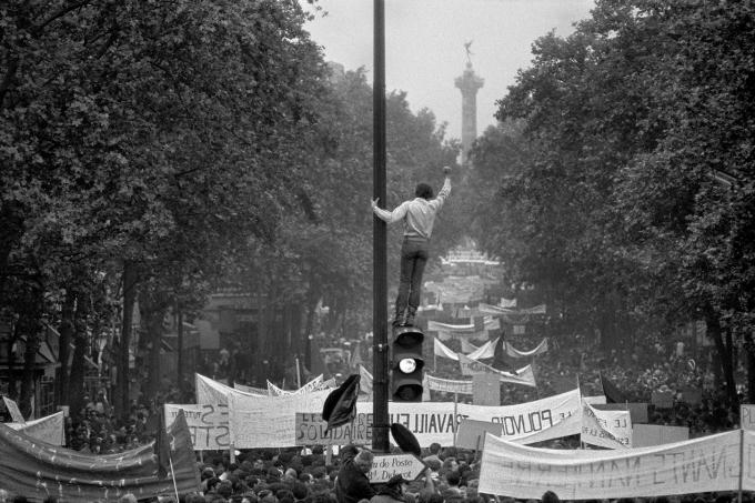 Mayo del 68 - Bruno Barbey