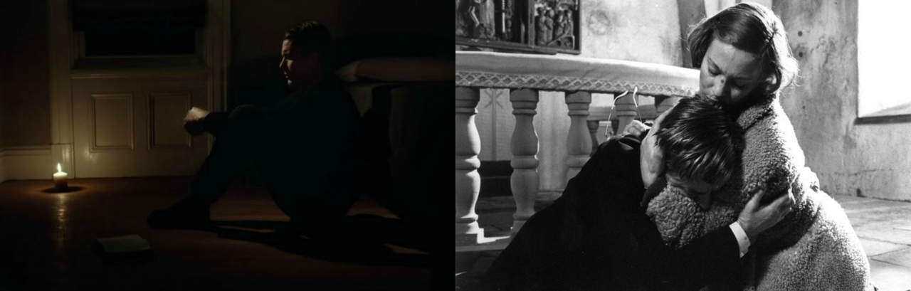 Collage First Reformed - Los comulgantes 2