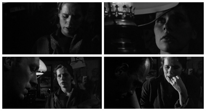 La hora del lobo Bergman 1968