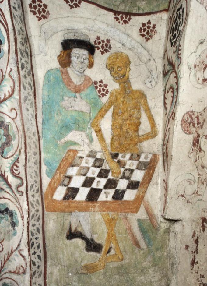 La muerte jugando al ajedrez Bergman