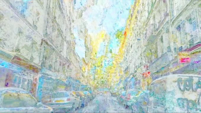 Paris, premier passage